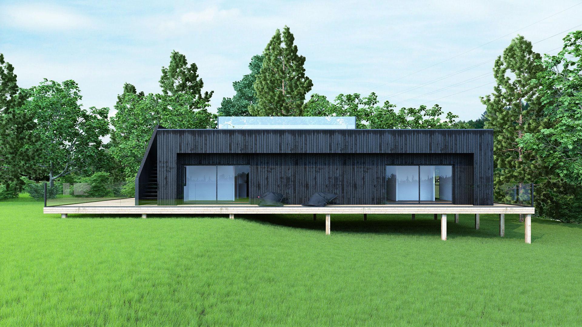 maison bois, next house, maison next house, next house house, autograss, insertion dans le site, permis de construire, image 3d architecture, maison contemporaine